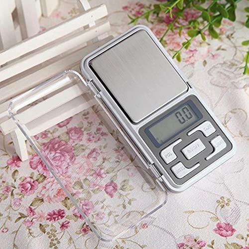 ZEREA Mini escala electrónica de alta precisión,Báscula multifunción de alimentos de cocina digital,Joyería calibración balanza balanza portátil balanza de bolsillo, 300g/0.01g LCD azul g/tl/oz/ct/gn