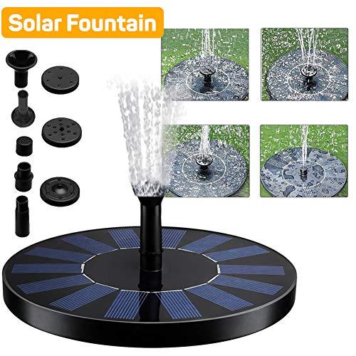DJG Flotante Fuente Solar de la Bomba, la Bomba 5W Fuente Solar,...
