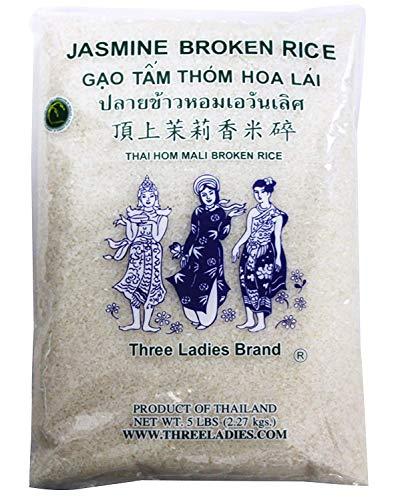 5 Pounds Three Ladies Brand Jasmine Broken Rice