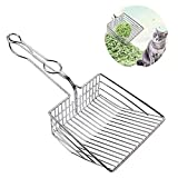 UMIRNI Cat Litter Scooper All Heavy Duty Solid Metal End-to-End with Core Non