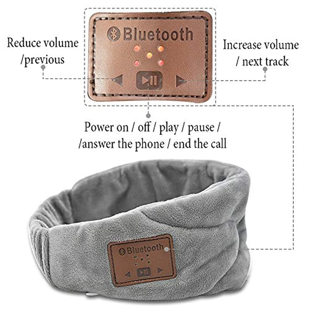 注音楽睡眠アイマスクナチュラル睡眠アイシェードカバーシェードアイパッチソフトポータブル目隠し女性男性旅行アイパッチ包帯