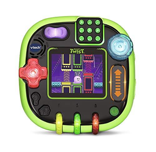 VTech Rockit Twist Console - Vert Translucide - Electrónica para niños (Verde,...