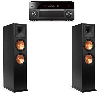 Klipsch RP-280FA Pair - 2.0.2 Dolby Atmos Home Theater Bundle with Yamaha RX-A3080 Receiver