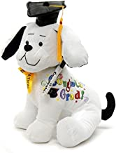 "Graduation Autograph Dog With Pen, Black Hat - Congrats Grad! - 10.5""H- Medium - Hound Dog Gift Toys for Graduate Student Party (10.5""H- Medium)"