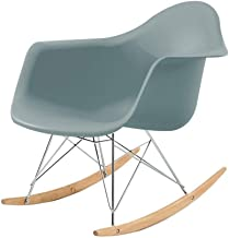 Creative Comfortable Relax Rocking Chair Living Room Leisure Chair L Chairs & Stools (Color : Light Green)