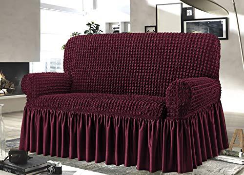BiancheriaWeb Funda para sofá Voila, Tela de 2 plazas