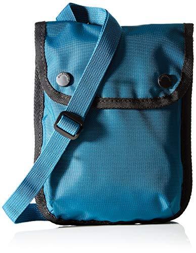 Quiksilver Carrier Satchel, Messenger/Shoulder para Hombre, Coral azul, Einheitsgröße