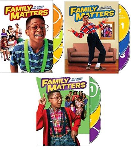 Family Matters: Seasons 1,2 & 3 DVD Pack