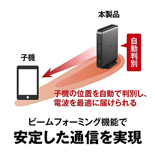 BUFFALOWiFi無線LANルーターWSR-1166DHPL2/N11acac1200866+300MbpsIPv6対応デュアルバンド3LDK2階建向け簡易パッケージテレワーク日本メーカー【iPhone12/11/iPhoneSE(第二世代)メーカー動作確認済み】
