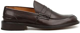 Luxury Fashion | Tricker's Men JAMESESPRESSOBURNISHED Brown Leather Loafers | Spring-summer 20