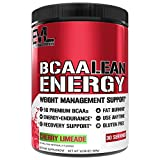 Evlution Nutrition BCAA Lean Energy - Essential BCAA Amino Acids + Vitamin C, Fat Burning & Natural...