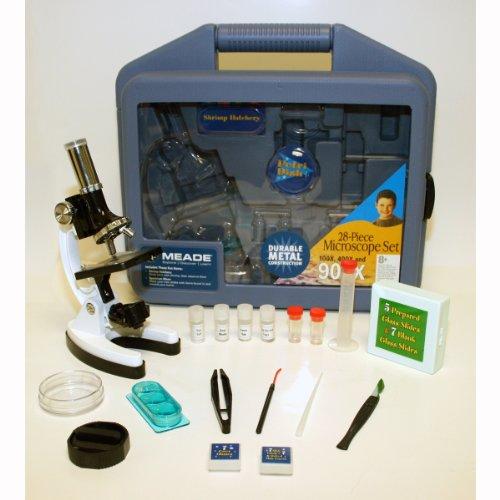 MEADE Childrens 28 Peice Microscope Kit
