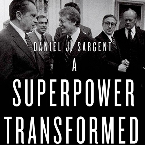 A Superpower Transformed audiobook cover art