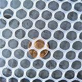 Red Anti-Escape para Mascotas Valla de Plástico Balcón Infantil Red de Seguridad Jardín Red de Verduras Aves de Corral Pájaro Red de Pollo, Malla 0.8cm (Size : 0.5 * 7m/1.6 * 22.9ft)