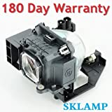 WoProlight NP17LP / 60003127 Replacement Lamp Bulb with Housing for NEC M300WS, NP-P350W, NP-P420X M420XV, P350W, P420X Projectors