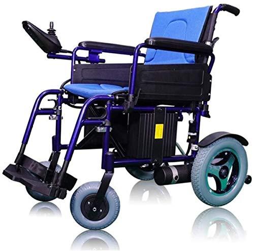 Elektrorollstuhl Medizin und Rehabilitation Stuhl, Rollstuhl, Elektro-Rollstuhl, Intelligent E-Folding Leicht Carry Durable Elektro-Rollstühle for Behinderte Ältere im Freien Komfortabler Rollstuhl El