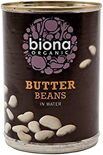 Biona Organic Butter Beans in Water - 400g