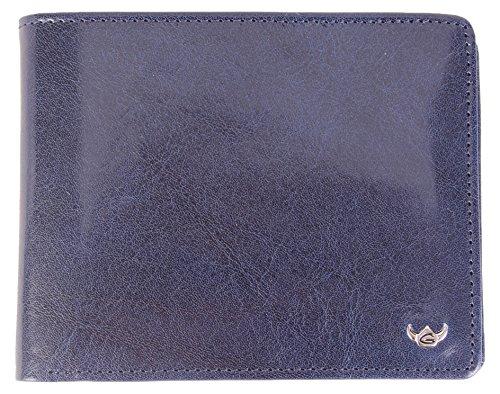 Golden Head Trend Visitenkartenhülle, 12 cm, Blau
