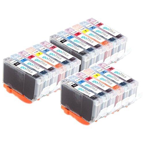 3 Go Inks Set van 6 Ink Cartridges ter vervanging van Canon CLI-8 Compatible/non-OEM voor PIXMA Printers (18 Pack)