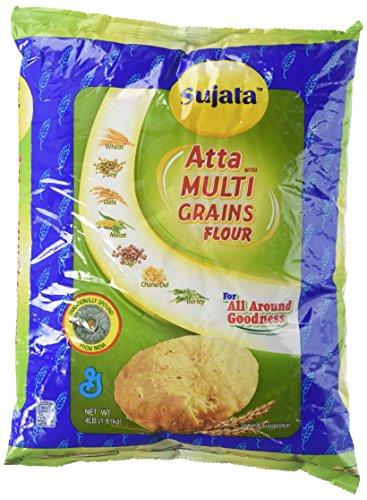 Sujata Atta - Multi Grains Flour 4lb., 1.8kg
