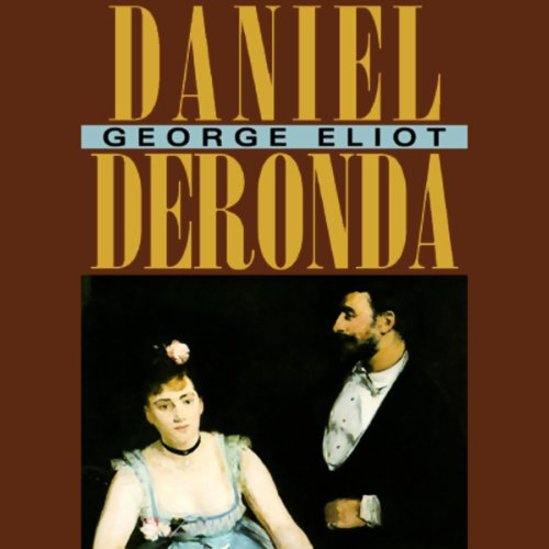 Daniel Deronda audiobook cover art
