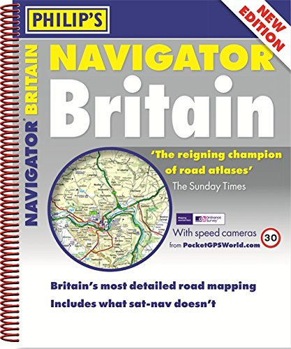 Philip's Navigator Britain Spiral (Philips Road Atlas)