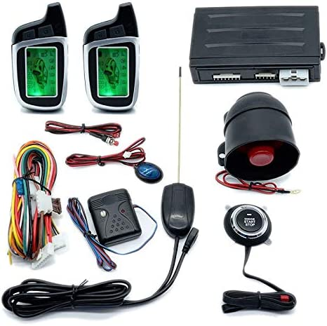 YIWMHE One Button Start Stop Universal Engine Alarm High quality Car Special Campaign Two-Way