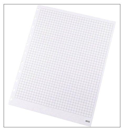Refill-Papier kariert f. ARC Spiralbuch weiß A4 100g 50 Blatt 22005