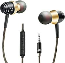 Auriculares,OuTera Auriculares con micrófono, Sistema de Cancelación de Ruido y Sonido Envolvente,Auriculares In-Ear.Compatibles con Huawei,MP3,iOS,Android,PC y más
