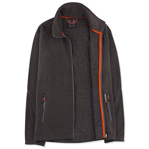 Musto Bowman Fleece Jacke Größe:M Farbe: Charcoal