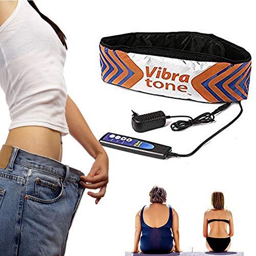 POEO Abnehmen Gürtel, Bauchmuskeltrainer Gürtel mit 3 Modes Massage und Vibrationswirkung, Fett Reduzieren und Muskelmassage für Frauen und Männer