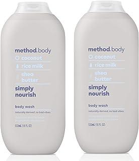 Method Body Body Wash - Simply Nourish 18 FL OZ 532 ml - 2-PACK