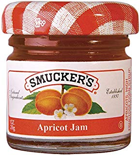 Smucker's Smucker´s Apricot Jam, Chabacano, 28 gramos