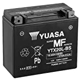 Batteria YUASA ytx20l-BS, 12V/18ah (dimensioni: 175X 87X 155) per Harley Davidson flstbi 1450Night Train anno di costruzione 2005