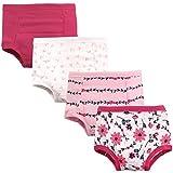 Hudson Baby Kids Unisex Baby Cotton Training Pants, Botanical, 2 Toddler