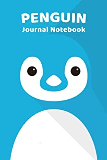 Penguin Notebook Journal: Zoo Farm Animal Face Close Up Note Book Journal Diary, Cool Gift for Men, Women, Kids 118 pages ...