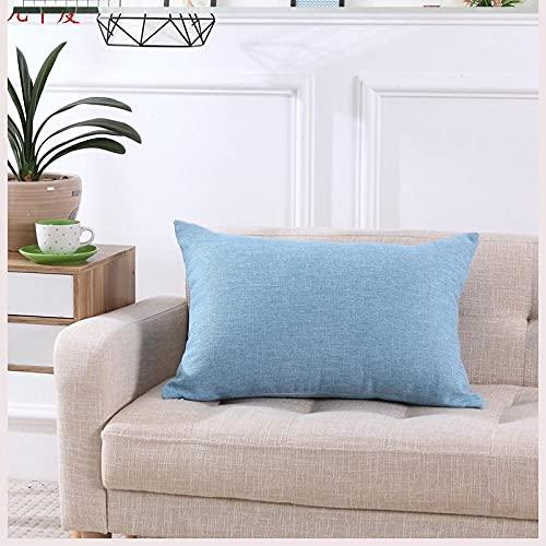Almohada Ergonómica para Dormir en Diferentes Posturas (Lado, Espalda o Estómago) -Cielo Azul_40x60cm