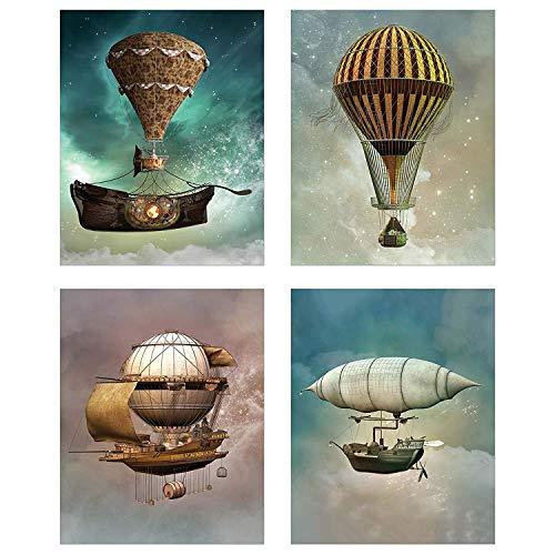 hot air balloon home decor - 6