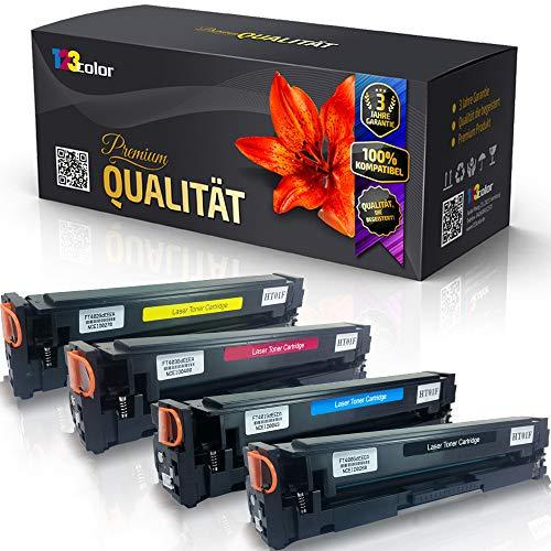 4X Print-Klex Tonerkartuschen kompatibel für Canon Color imageCLASS MF640 Series i-Sensys LBP620 Series i-Sensys LBP621 Cw i-Sensys LBP623 Cdw 054 054H Black Cyan Magenta Yellow - Office Line Serie