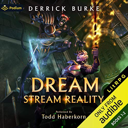 Dream Stream Reality: Publisher's Pack Audiobook By Derrick Burke cover art
