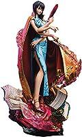 ユニークアートスタジオ ワンピース ログコレクション 大型スタチューシリーズ ニコ・ロビン 全高約570mm ポリストーン製 塗装済み 完成品 フィギ...