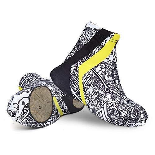 JenNiFer Couvre-Chaussures De Cyclisme De Course XL Warm Vélo Vélo Homme Femme Couvre-Chaussures Hiver Eté