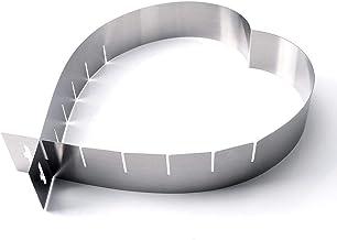 N/R 1pc de Acero Inoxidable de múltiples Funciones de Bricolaje multifunción Cake Cake Mould Herramientas para Hornear, Inoxidable