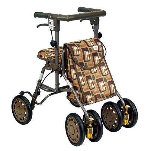 島製作所 歩行車 シンフォニーライト (1)GAブラウン ダイエット 健康 健康器具 車椅子 [並行輸入品]