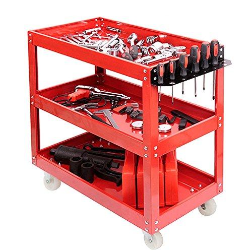Generic. Lit Chariot Outil de Service OL Cart Chariot Olley Atelier Garage P Garage 3tier Heavy Duty Avy D mécanicien Utilitaire Heavy DUT