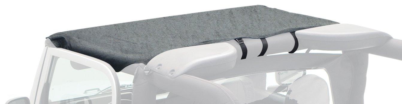 Smittybilt 92815 Black Denim Standard Top for Jeep YJ