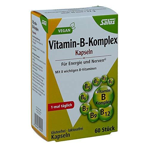 VITAMIN B Komplex vegetabile Kapseln Salus 60 St