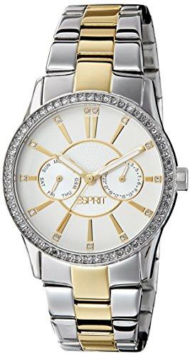 Esprit Damen-Armbanduhr Ss2014 Analog weißes Zifferblatt