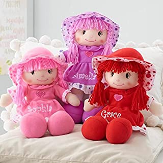 Personalized Sweetheart Cuddle Doll - 14 Inch (Pink)