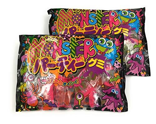 【まとめ買い】ハロウィン モンスターパーティーグミ きもかわオイシイ! 300g ×2袋